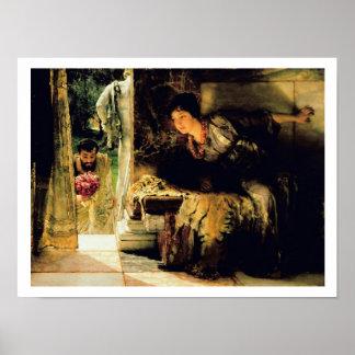 Poster Pas bienvenus d'Alma-Tadema |, 1883