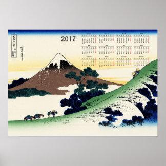 Poster Passage d'Inume dans la province de Kai