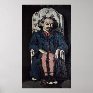 Poster Paul Cezanne   Achille Emperaire c.1886
