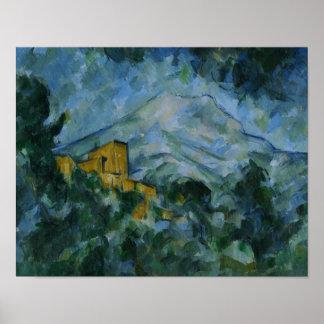 Poster Paul Cezanne - Mont Sainte-Victoire