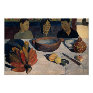 Poster Paul Gauguin - le repas