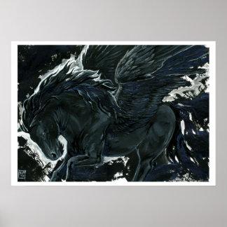 Poster Pegasus foncé