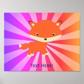 Poster Petit renard