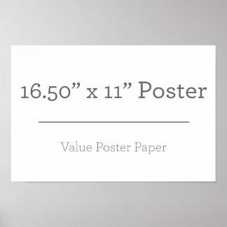 Poster Petite affiche supplémentaire faite sur commande