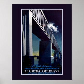 Poster Peu d'affiche de pont en ceinture