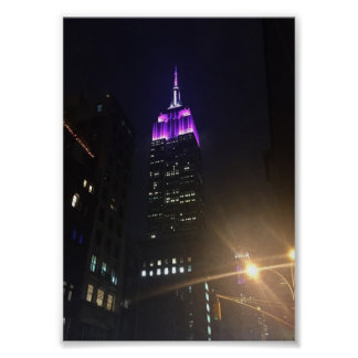 Poster Photo de New York City NYC d'Empire State Building