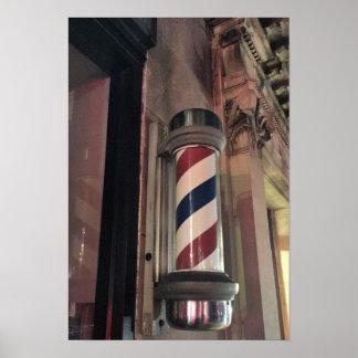 Poster Photo de Polonais de salon de coiffure
