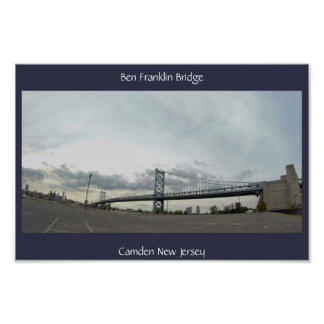 Poster Photo de pont de Ben Frankin