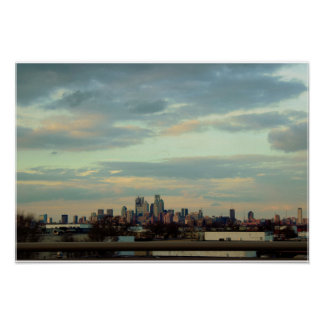 Poster Photo d'horizon de Philadelphie
