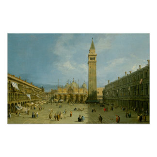Poster Piazza San Marco