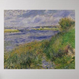 Poster Pierre banques de Renoir un | de la Seine,