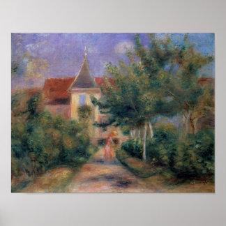 Poster Pierre maison de Renoir | un Renoir chez Essoyes