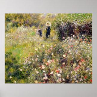 Poster Pierre un paysage d'été de Renoir  