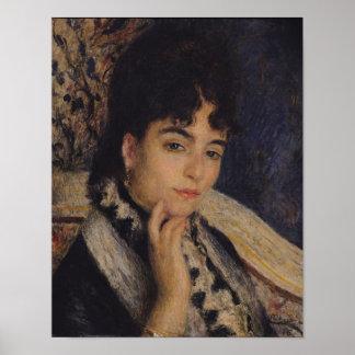 Poster Pierre un portrait de Renoir | de Mme. Alphonse