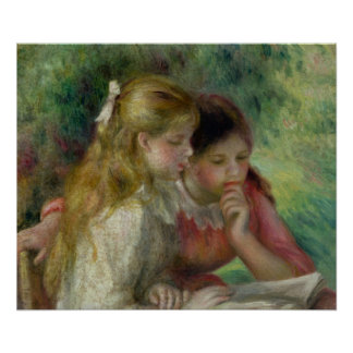Poster Pierre un Renoir | la lecture
