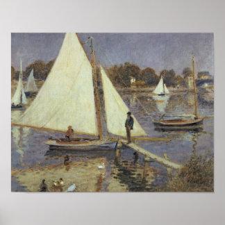 Poster Pierre un Renoir | la Seine à Argenteuil