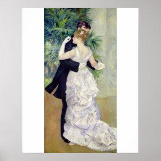 Poster Pierre une danse de Renoir   dans la ville