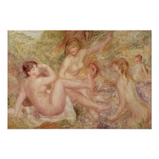 Poster Pierre une étude de Renoir   pour les grands