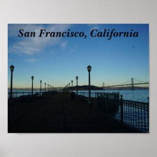 Poster Pilier 7, affiche de San Francisco #3