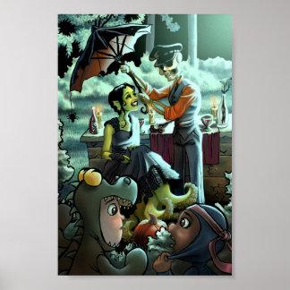 Poster Pique-nique de Halloween