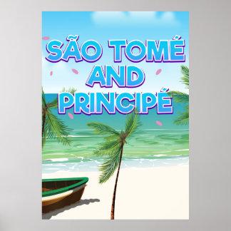 Poster Plage de São Tomé et de Principé