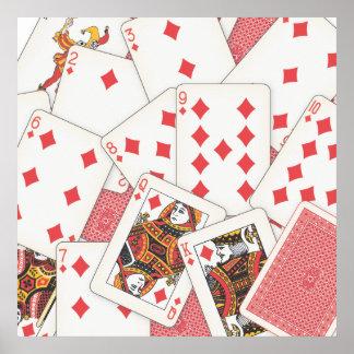 Poster Plate-forme des cartes