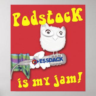 Poster Podstock est ma confiture ! 10ème Commémoration