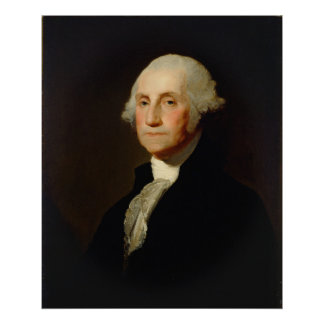 Poster Portrait de George Washington Gilbert Stuart