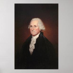 Poster Portrait de GEORGE WASHINGTON par Rembrandt Peale