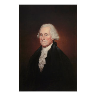 Poster Portrait de GEORGE WASHINGTON par Rembrandt Peale