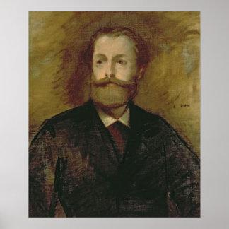 Poster Portrait de Manet | d'Antonin Proust c.1877-80