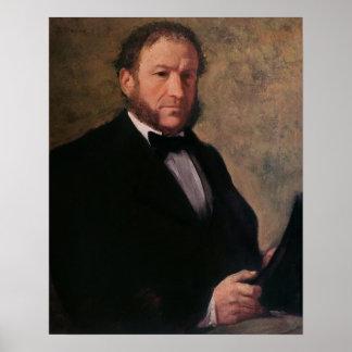 Poster Portrait d'Edgar Degas | de Monsieur Ruelle, 1861
