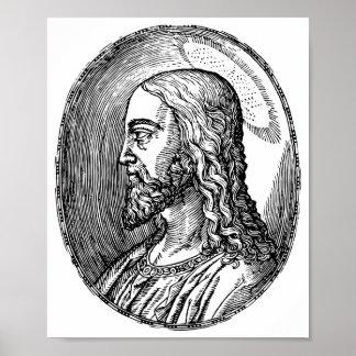 Poster Profil de Jésus-Christ