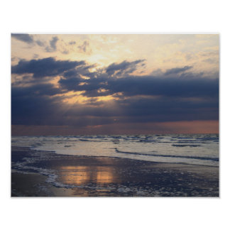 Poster Rayons de plage