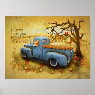 Poster Récolte d'automne