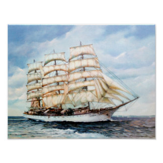 Poster Régate Cutty Sark/Cutty Sark Tall Ships'RACE