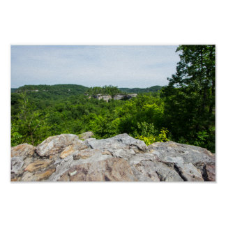 Poster Région pittoresque de voûte naturelle, Kentucky