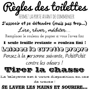 Posters Affiches Toilettes Zazzlebe