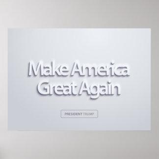 Poster Rendez l'Amérique grande encore