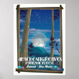 Poster Réserve forestière d'Apache-Sitgreaves