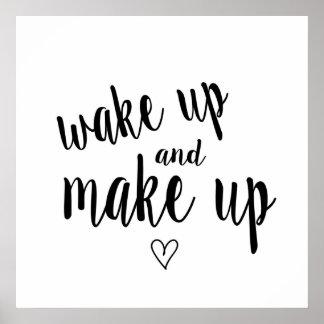 Poster Réveillez-vous et composez