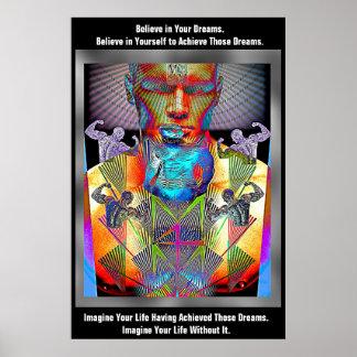Poster Rêves irrésistibles sur l'affiche de la meilleure