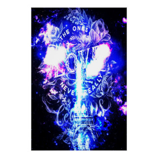 Poster Rêves parisiens iridescents de Th ceux qui nous