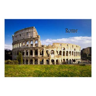 Poster Rome et le Colosseum personnalisé