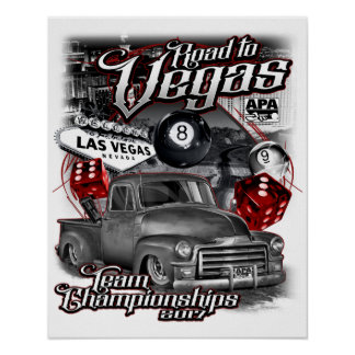 Poster Route vers Vegas 2017