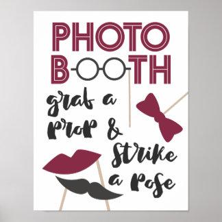 Poster Saisissez une cabine avec du charme de photo
