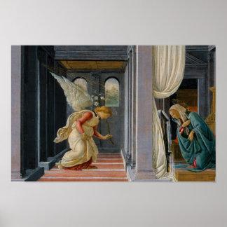 Poster Sandro Botticelli - l'annonce