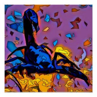 Poster Scorpion de mosaïque