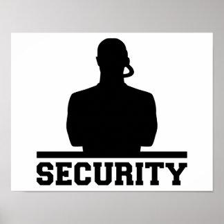 Poster Sécurité