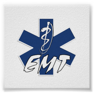 Poster Service actif d'EMT